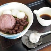 自家製抹茶あんみつ/ShamrockCafe